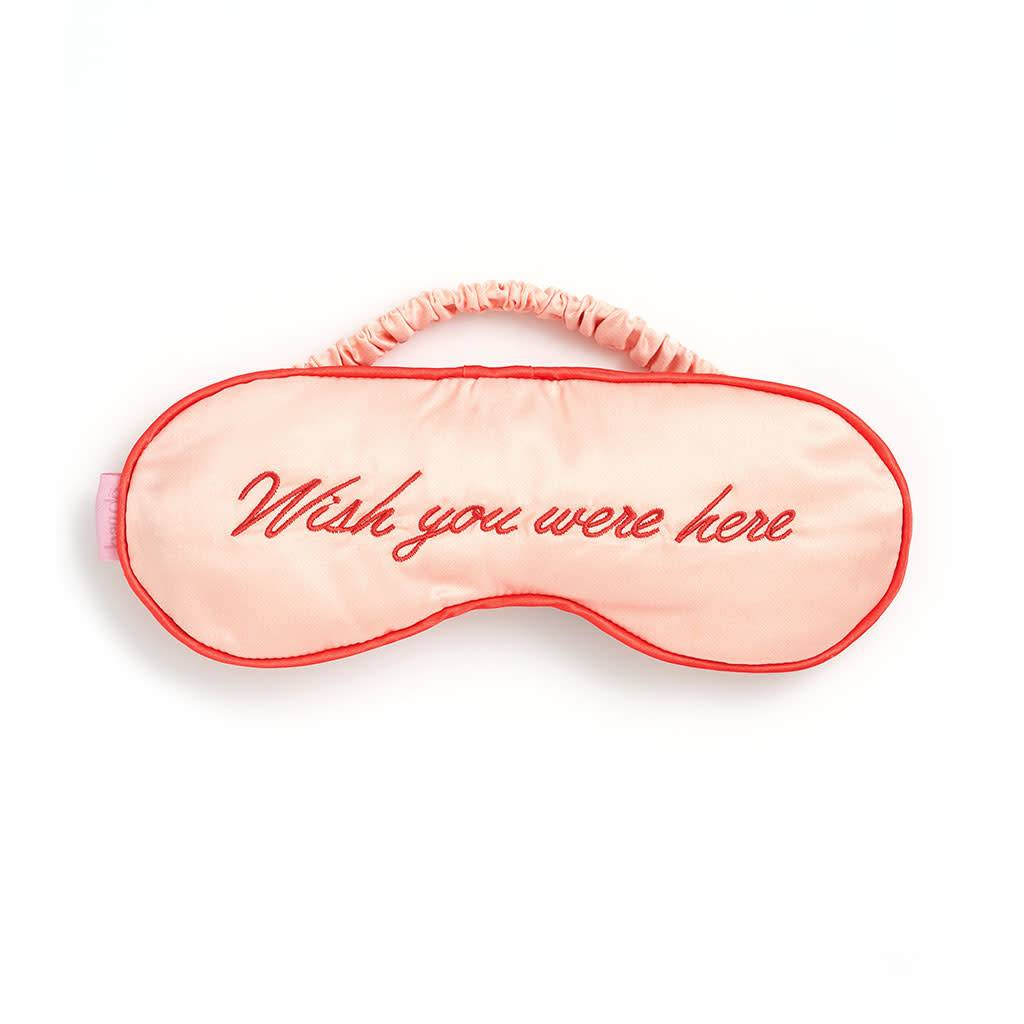 WISH YOU WERE HERE EYE MASK