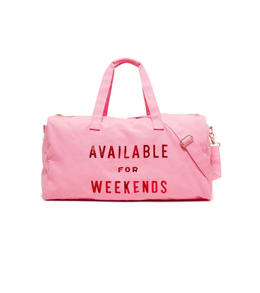 AVAILABLE FOR WEEKENDS GETAWAY BAG