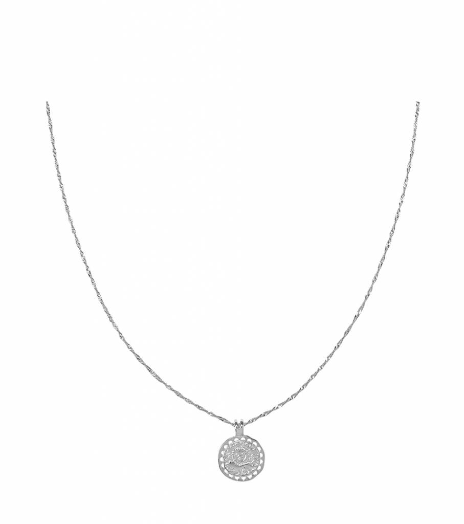 NATURE CALSS SILVER NECKLACE