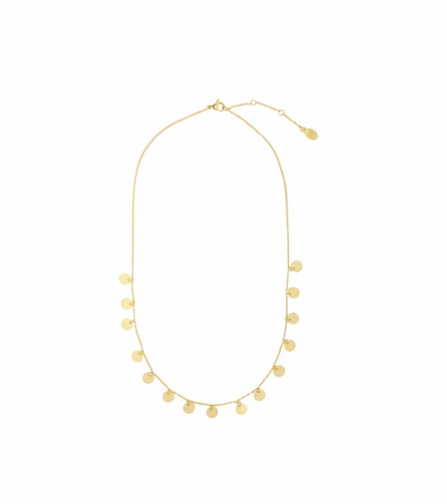 DROPS OF GOLD NECKLACE