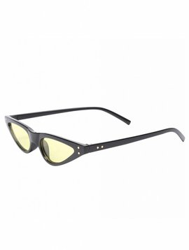 YELLOW CAT EYE GLASSES