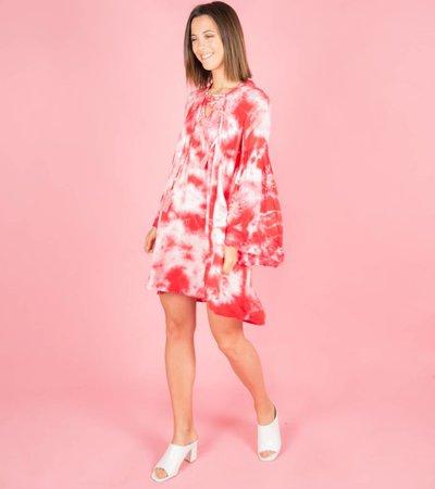BATIK RED DRESS