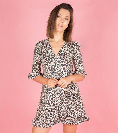 WILDSIDE LEOPARD DRESS