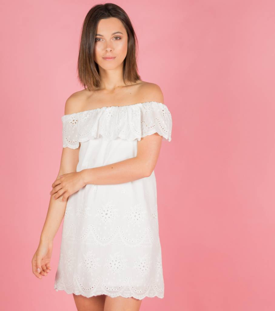 SUMMERTIME WHITE DRESS