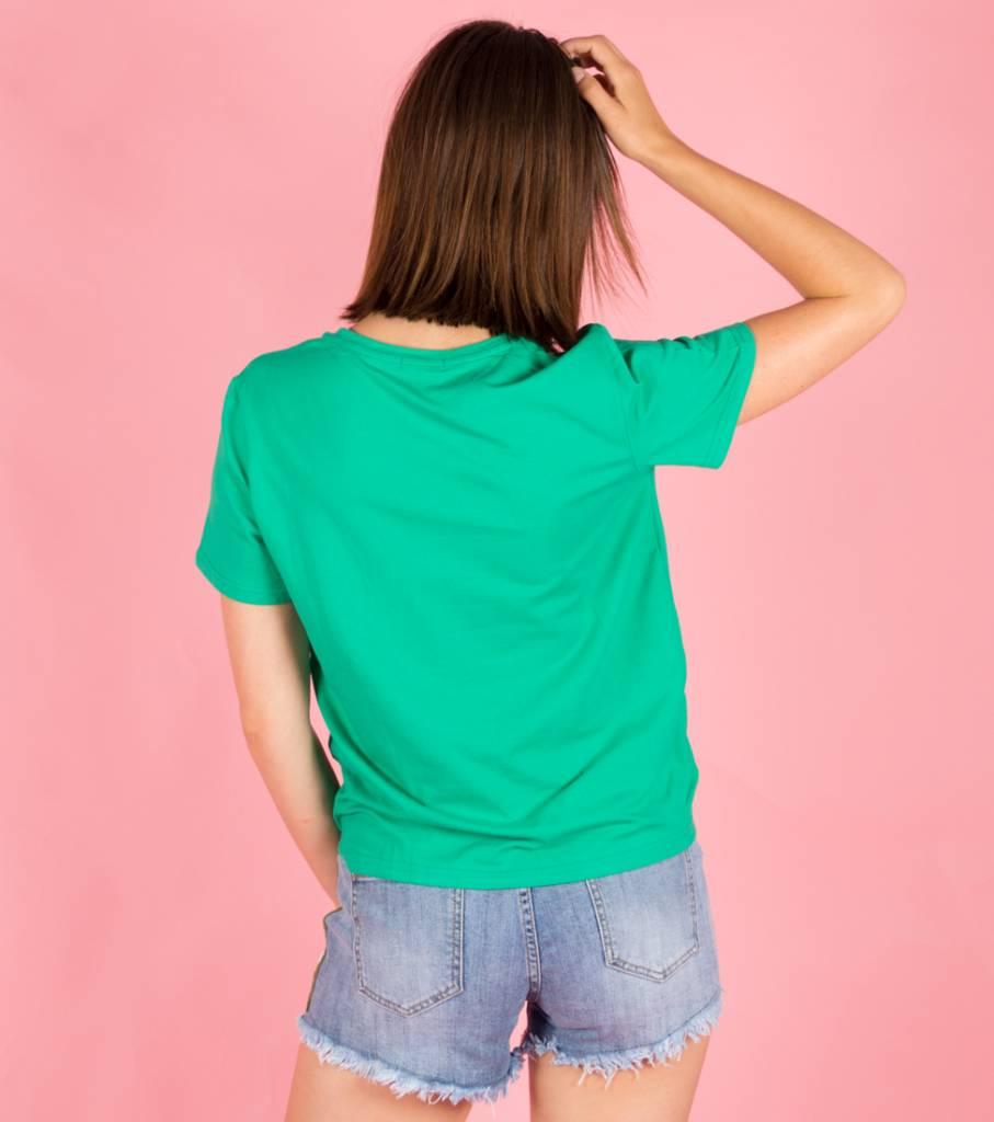 L AMOUR GREEN TSHIRT