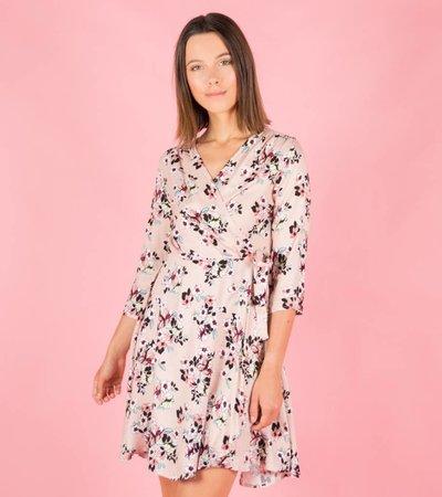 FLOWERLADY PURPLE DRESS