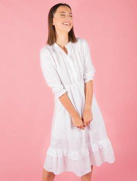 WHITE LADY LONG DRESS