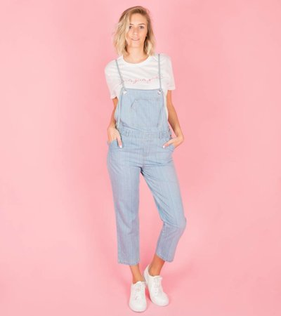 JEANS OVERSIZED DUNGAREE