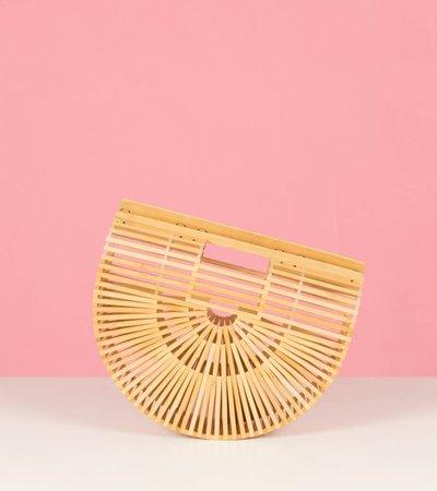 Moon bamboo bag