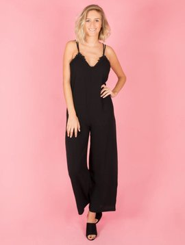 MY DAISY BLACK JUMPSUIT