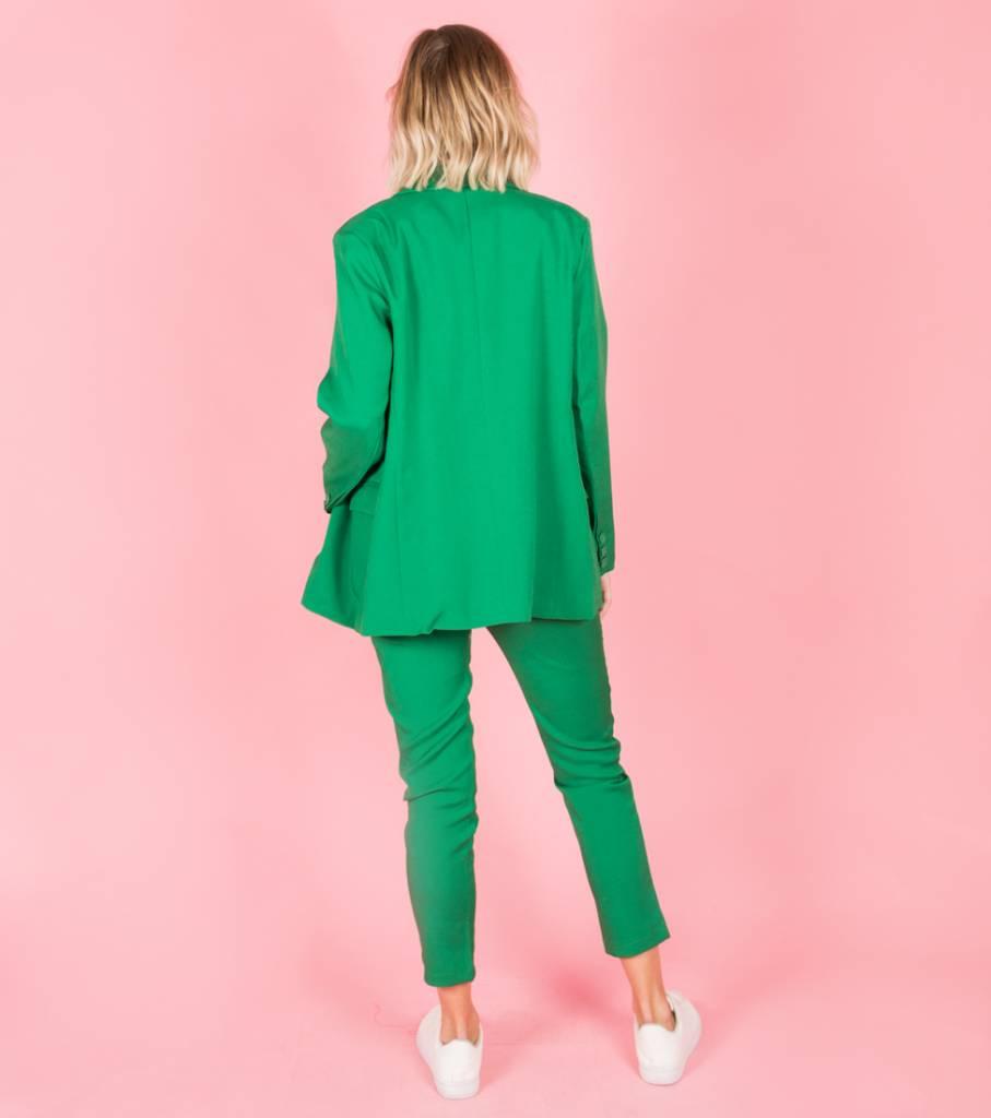 GREEN CLASSY BLAZER