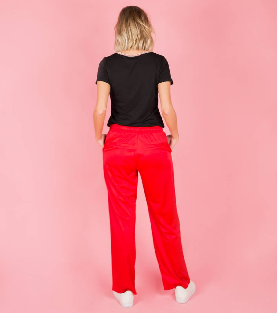 SPORTY SPICE RED TROUSERS