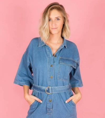 CLICK IT JEANS DUNGAREE