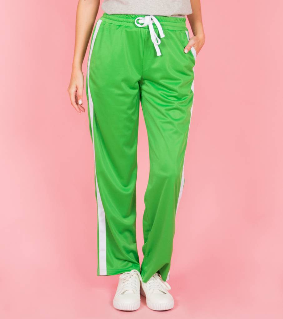 SPORTY SPICE GREEN TROUSERS