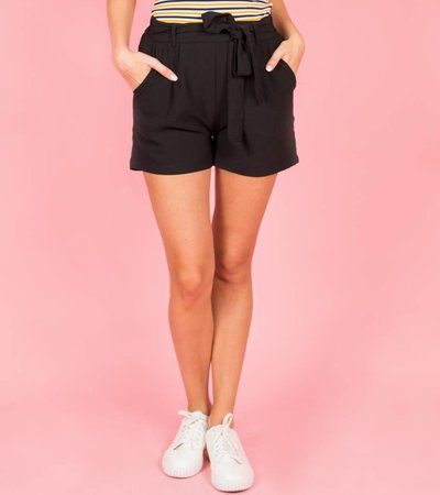 WRAP ME AROUND BLACK SHORT