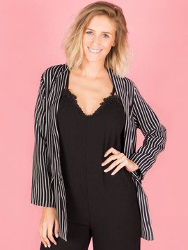 WORKLADY BLACK BLAZER
