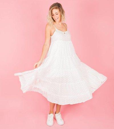 SUMMERBREEZE WHITE FLOWERDRESS