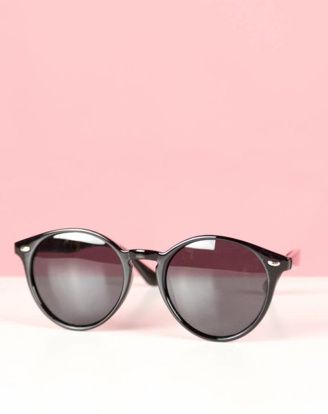 BASIC SUMMER BLACK GLASSES