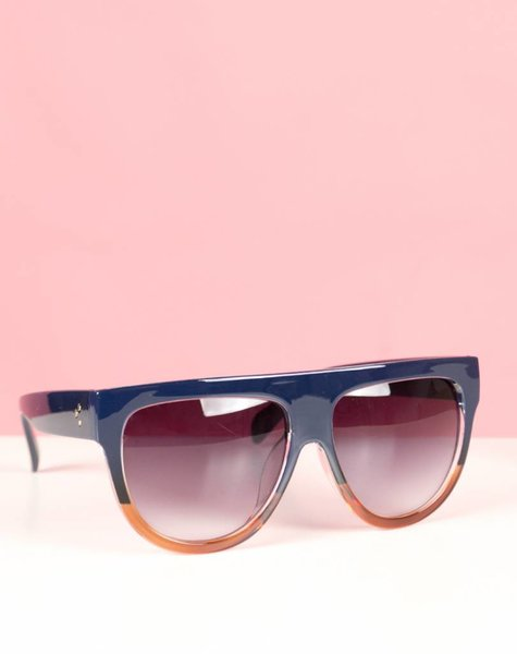 DOUBLE TOUCH RED GLASSES