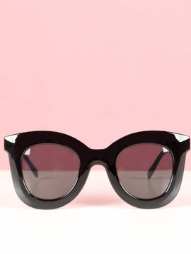 FAVORITE BOLD BLACK GLASSES