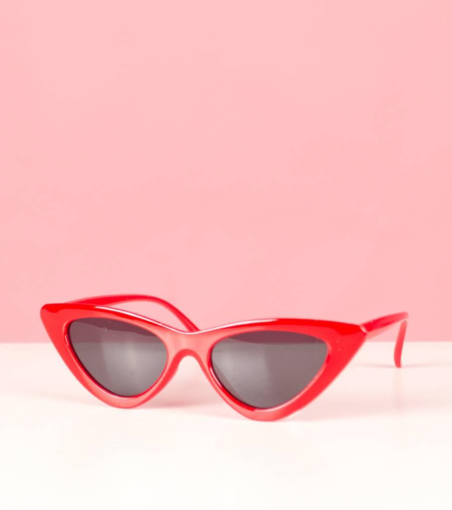 FELIX RED CAT EYE GLASSES