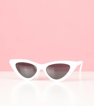 WHITE BUBBLEGUM GLASSES