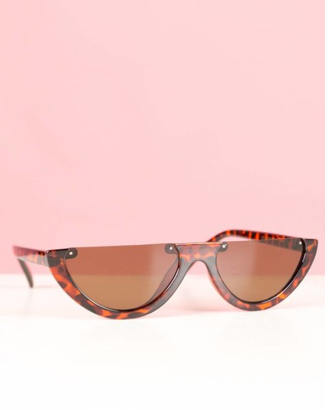 BROWN WATERMELON FRAME GLASSES