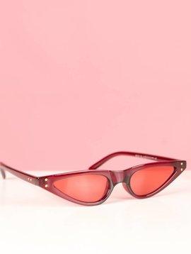 ODETTE RED CAT EYE GLASSES