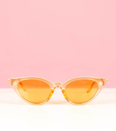 FIRECRACKER ORANGE GLASSES
