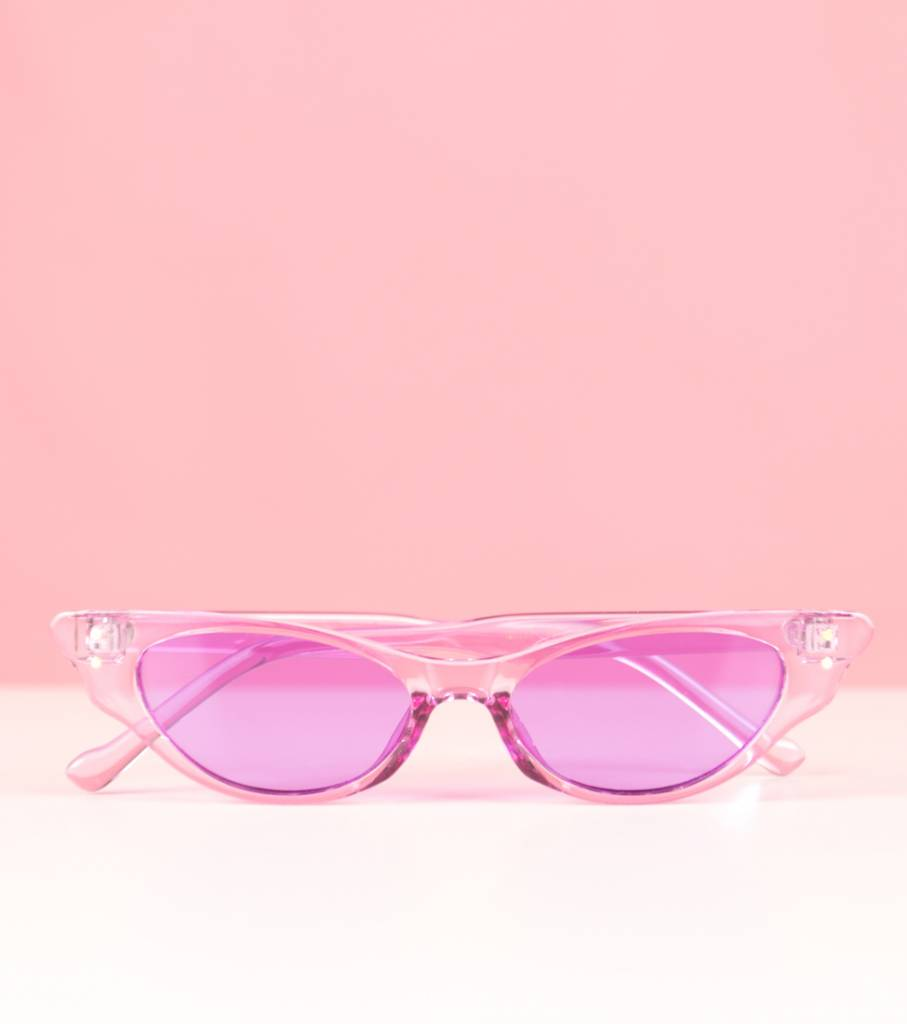 PURPLE STACEY GLASSES