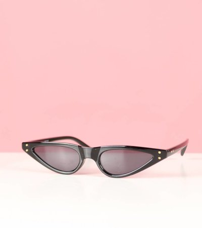 ODETTE BLACK CAT EYE GLASSES