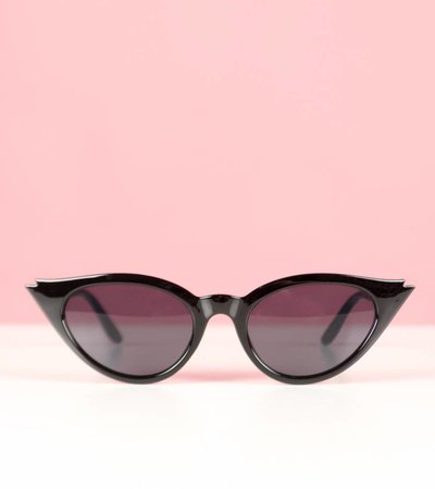 FIRECRACKER BLACK GLASSES