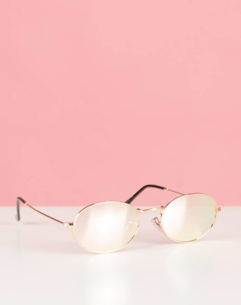 PINK BEAUTY OVAL GLASSES