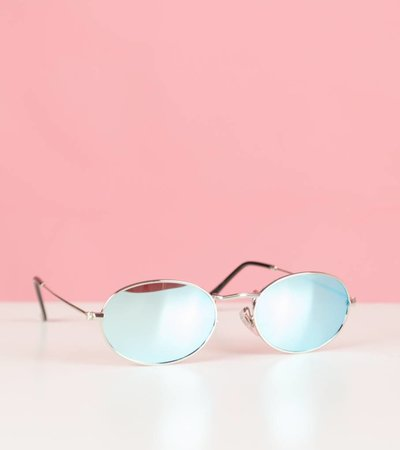 OCEAN BEAUTY OVAL GLASSES