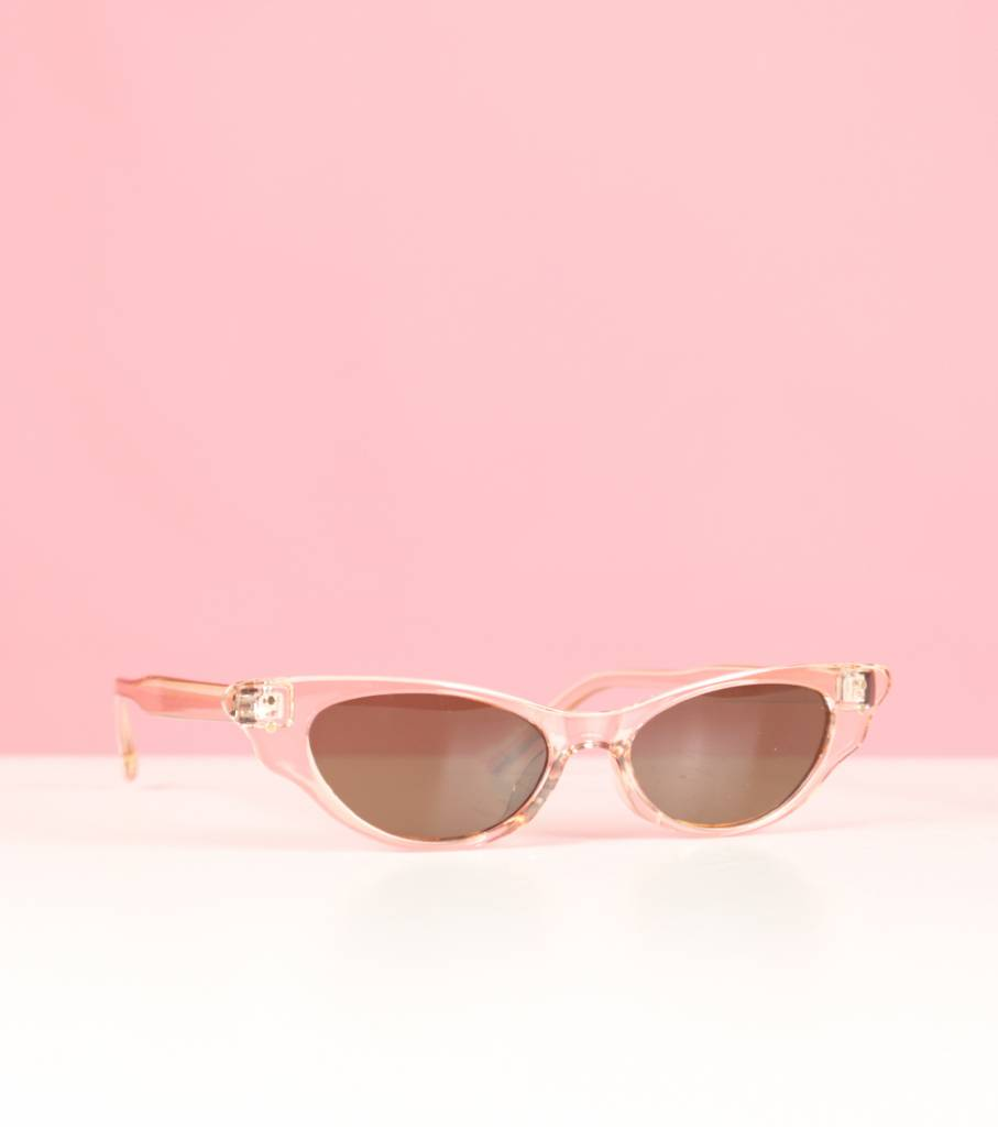 PINK CRYSTAL STACEY GLASSES