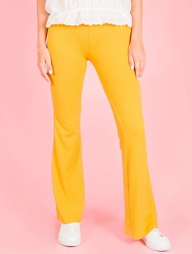 YELLOW DISCO TROUSERS