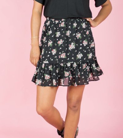 FLOW THE FLOWERS SKIRT