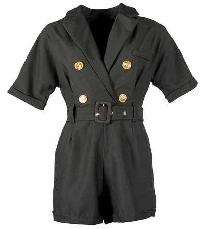 INDIANA JONES PLAYSUIT BLACK