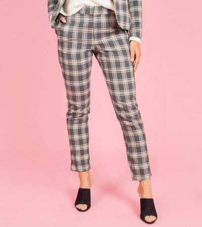 Scottisch Trousers Grey & Camel