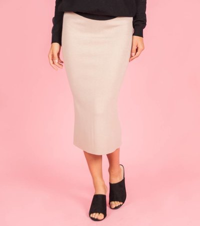 Kimmy K Maxi Skirt blush