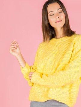 Hello Fall Jumper Yellow