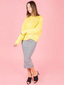 Kimmy K Maxi Skirt Grey