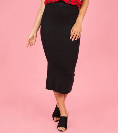 Kimmy K Maxi Skirt black