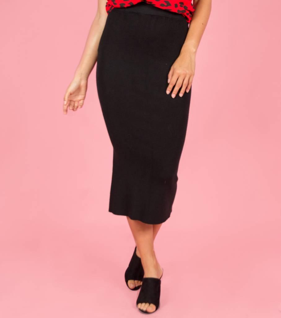 Kimmy K Maxi Skirt black