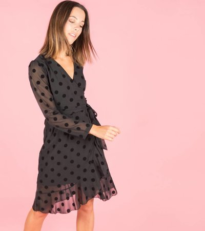 Preppy polka dress