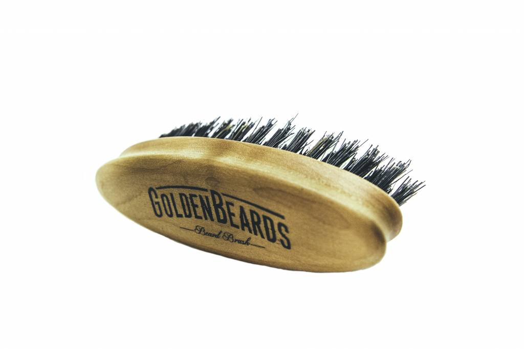 Golden Beards Travel Beard Brush