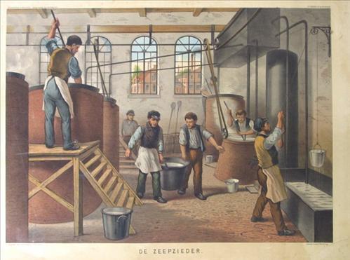 Zeepzieden in de 19e eeuw