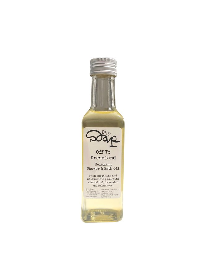 Showering with Oil   Silky Soft Bath and Shower Oil