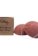 Konjac Sponge French Red Clay Sensitive Skin