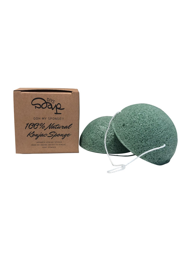 Konjac Sponge Aloe Vera Combination Skin